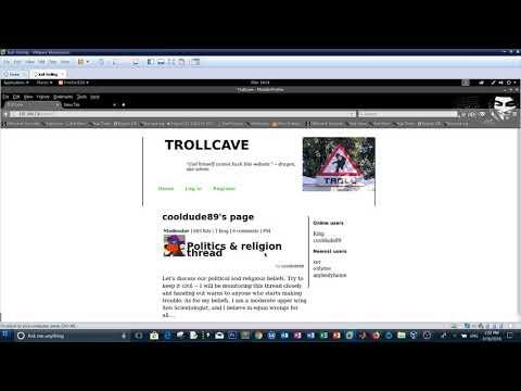 TrollCave Vulnhub CTF walkthrough - Troll on Rails
