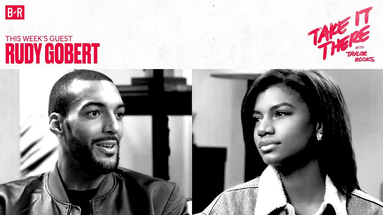 "Rudy Gobert Doesn't Forget Who Got Drafted Before Him | ""Take It There with Taylor Rooks"" S1E4"