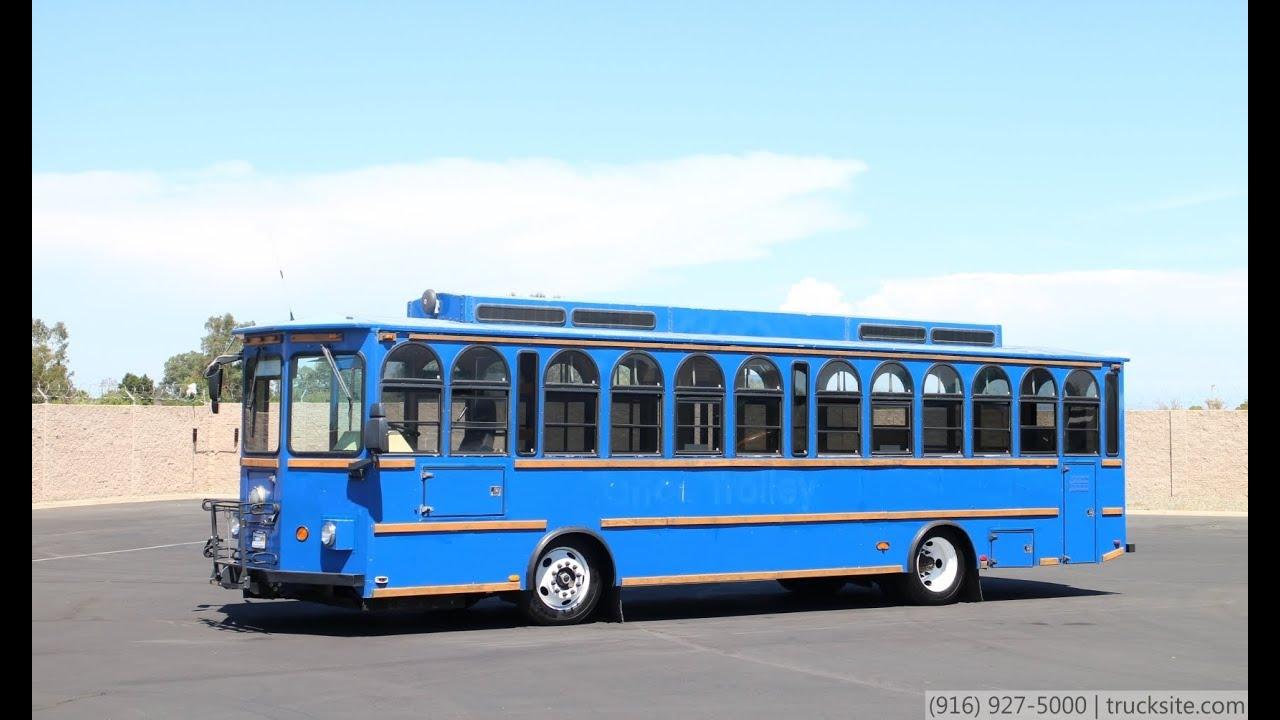 2000 Freightliner Double K 34 Passenger Trolley - YouTube