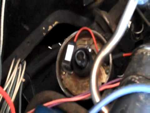 1966 Mustang Distributor Wiring Diagram Replace Distributer With Electronic Ignition Youtube