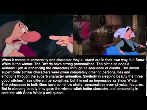 sleeping beauty vs snow white essay A video about how snow white and sleeping beauty are just about the same see part two for illuminati references in them both (the illuminati in snow white.