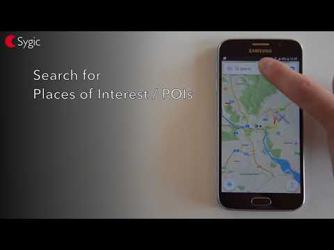 How To Make A Route In Sygic GPS Navigation For Android