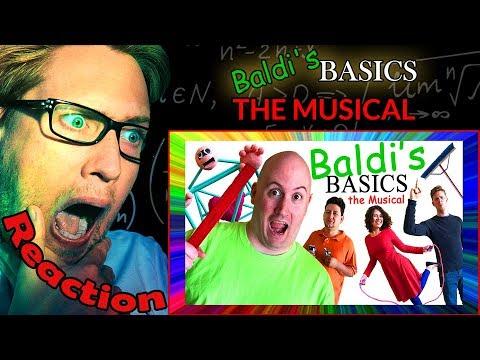 BALDI'S BASICS: THE MUSICAL by Random Encounters REACTION! | BALDI IN REAL LIFE! |