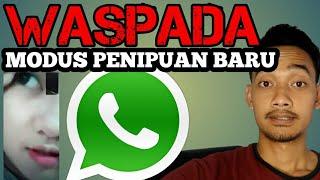 PENIPUAN DENGAN WHATSAPP || MODUS BARU