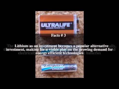 Lithium as an investment Top # 5 Facts
