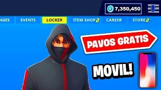 if you have MOVIL/CELULAR you can get FREE PAVOS in Fortnite... *NOW RIGHT* 😱