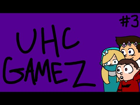 Minecraft UHC Games [The Park] - Game 03: ONE HEADPHONE = SWEAT? |