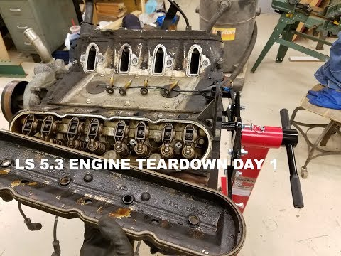 5.3 LS Teardown and cleaning Day 1