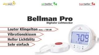 Produktvideo zu Digitaler Lichtwecker Bellman Pro