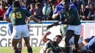 JWC 2013: France v South Africa