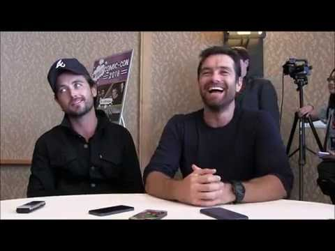 HNS s Antony Starr and Justin Chatwin from American Gothic Comic Con 2016