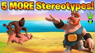 5 MORE CoC Stereotypes! - Top 5 Friday - Clash of Clans