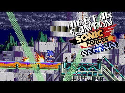 Sonic Forces - Mortar Canyon (SEGA Genesis Remix)