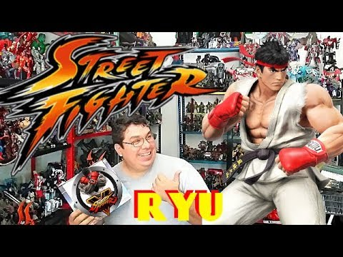 RYU Street Fighter V Storm Collectibles Action Figure Toy Review