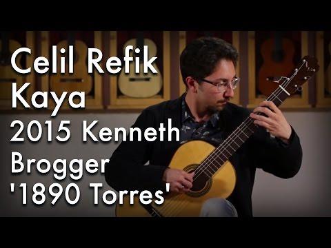 Celil Refik Kaya - Valses Poeticos (2015 Kenneth Brogger)