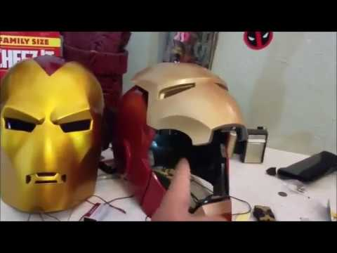 Marvel's Universe Iron Man Adult Helmet review