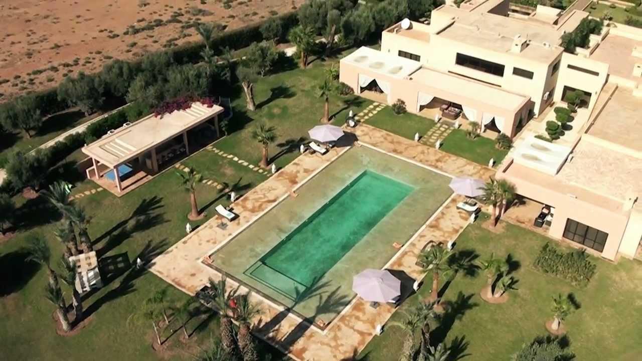 Dar messi marrakech vidéo aérienne