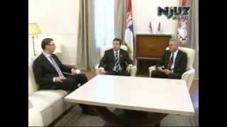 Vučić i Dačić se raspravljaju pred Nikolićem