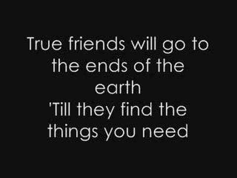 Hannah Montana  True Friend + Lyrics
