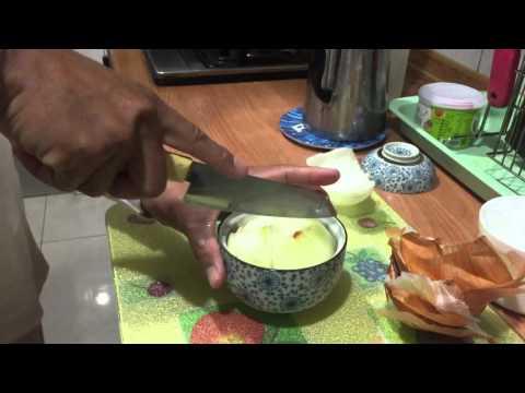 小充充親自示範洋蔥水燉法