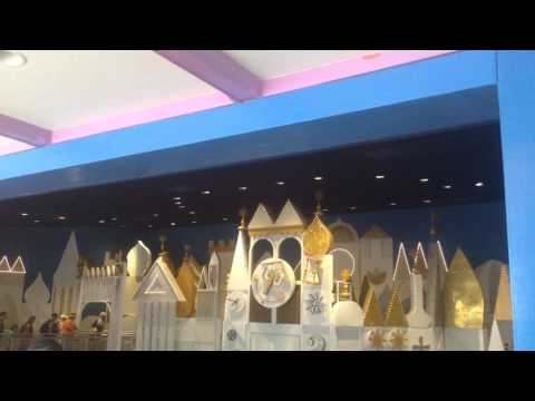 The It's A Small World Clock Tower