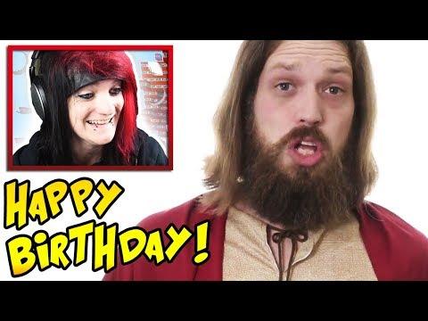 Celebrating my Editor's Birthday with..FIVERR!