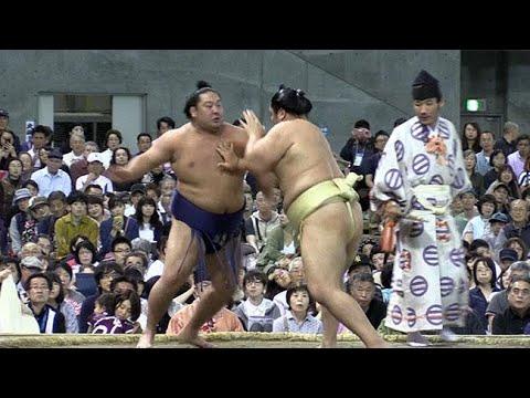 道産子力士に大声援 大相撲札幌場所 (2018/08/19)北海道新聞 - YouTube