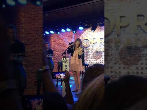 Carrie Underwood- Love Wins @ Opry City Stage