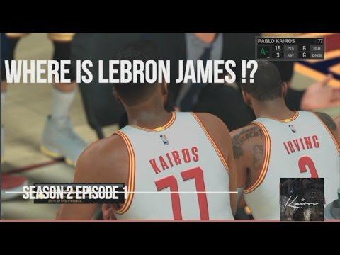 NBA 2K17 MY CAREER SEASON 2 CAVS | EP 1 | FIRST GAME WITH CAVS | VINCE CARTER | WHERES LEBRON JAMES