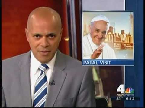 Pope Francis Cookies WNBC 6pm 8 19 15