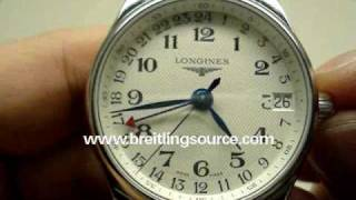 Longines Master Collection GMT 24hr Automatic Watch