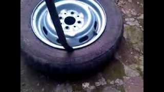 Как монтировать колесо самому...