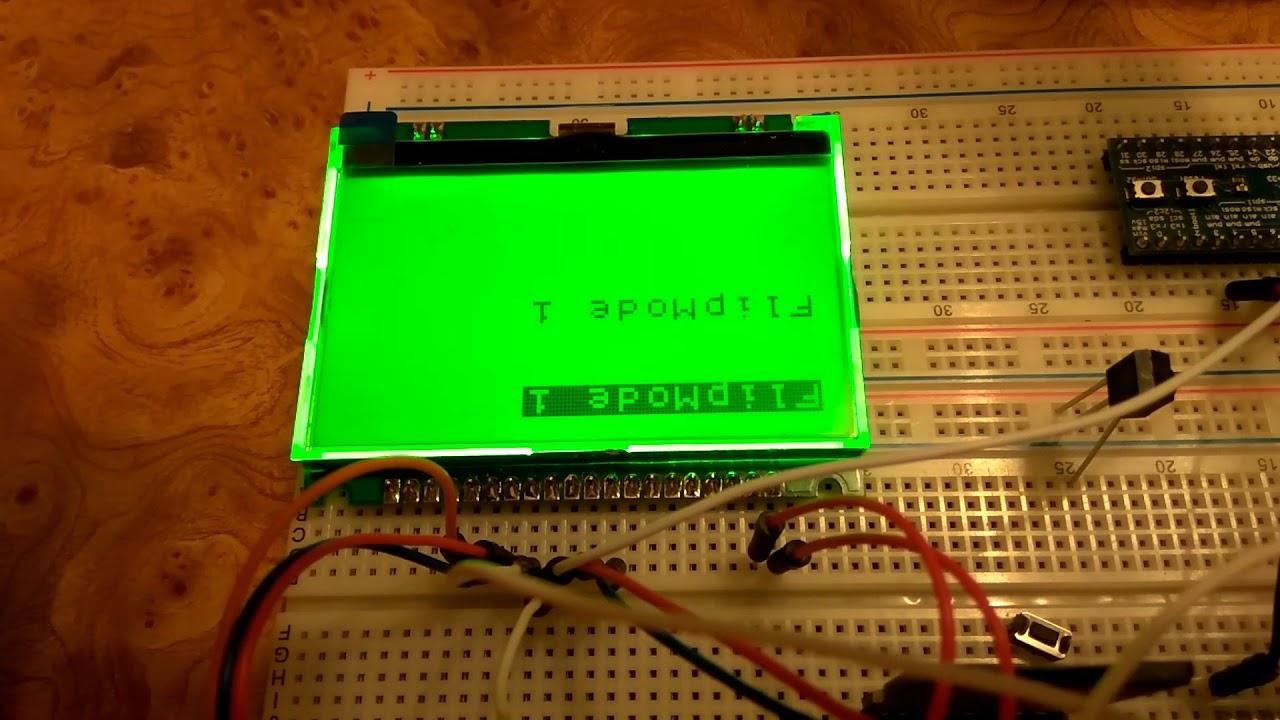 U8g2 FlipMode sample