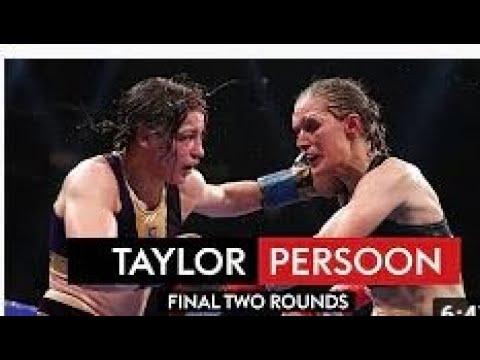 Katie Taylor vs Delfine Persoon II / Кэти Тейлор - Дельфин Персон 2