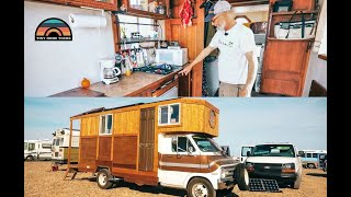 Custom DIY Tiny House Box Truck Built With Recycled Materials By Home Renovator
