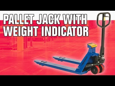 Pallet Jack with Digital Scale