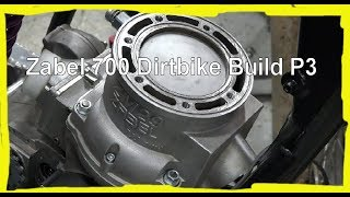 Zabel 700 Dirtbike Build Part 3: Putting the top end together