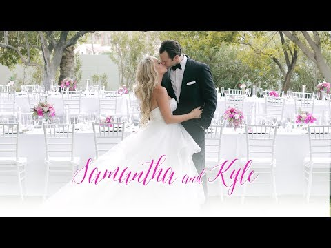 Samantha + Kyle Wedding Film at the Avalon Hotel and Historic Cree Estate in Palm Springs