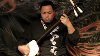 YOSARE BUSHI Shibutani Kazuo 渋谷和生 on tsugaru shamisen 津軽三味線
