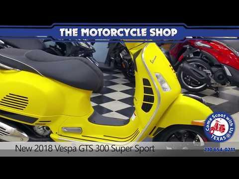 New  Vespa GTS  Super Sport