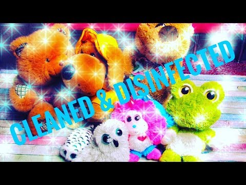 6 Best Ways Of Soft Toys Cleaning And Disinfection - How To Clean And Disinfect Stuffed Toys