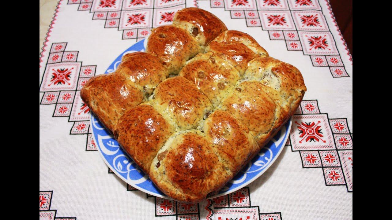 Пироги рецепт с маком и изюмом Пирожки Булочки рецепты с ...