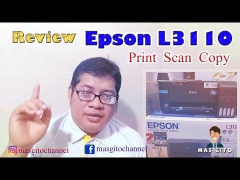 review epson l3110 print scan copy