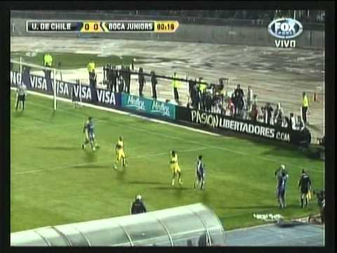 COPA LIBERTADORES 2012 UNIVERSIDAD de CHILE 0-0 BOCA (Semifinal Vuelta)