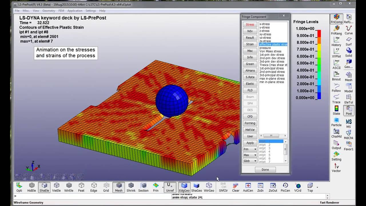 Modeling of composites in LS-DYNA  Video tutorial (incomplete)