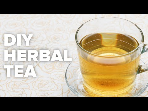 DIY Herbal Tea For Allergy Relief