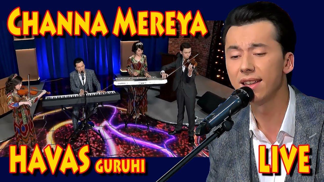 Havas guruhi, MTV Show-Channa meriya. Tashkent/ Uzbekistan 23 11 2017