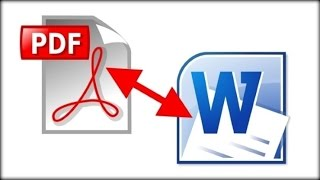 How to easily convert PDF to Word without software
