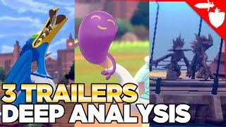 New Birds, Foods, Mysteries, and Breeding? Pokemon Sword and Shield Trailer Analysis