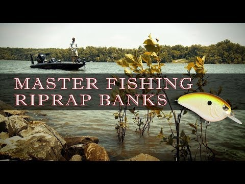 How To Fish Riprap With Crankbaits